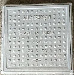 24 x 24 inch FRP Square Manhole Cover