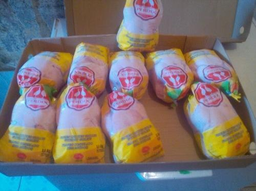Halal Frozen Whole Chicken, Packaging Type: Box