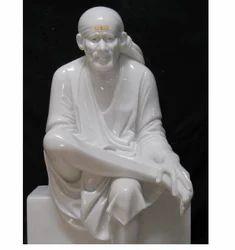 White Marble Sai Statues