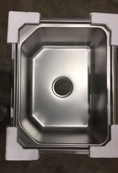 24x18 Inch Matt Finish Steel Sink