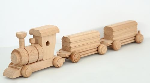 Wood Train