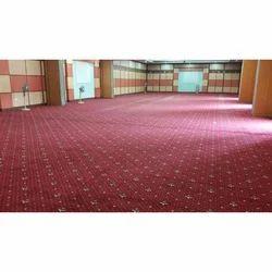 Black Base Printed Modern Floor Carpet