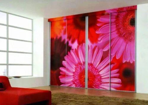 Digital Printed Glass Wall Unit at Rs 230 /square feet | Varachha ...