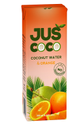Juscoco Cloudy White Orange Flavored Coconut Water, Packaging Size: 200 Ml, Packaging Type: Tetra Pak