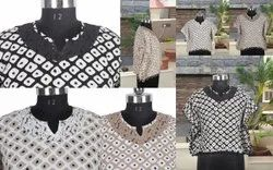 Designer Western Wear Cotton Tops / Kurtis