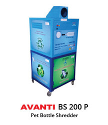 Plastic and PET Bottle Shredder Machine
