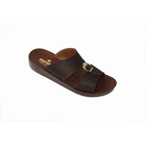 Myrosoft Designer Leather Slipper, Size: 6 to 10