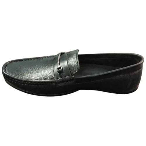 Black Men Formal Leather Office Shoes