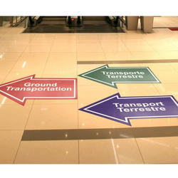 Floor Graphic Sign