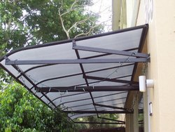Fixed Outdoor Shade Awning
