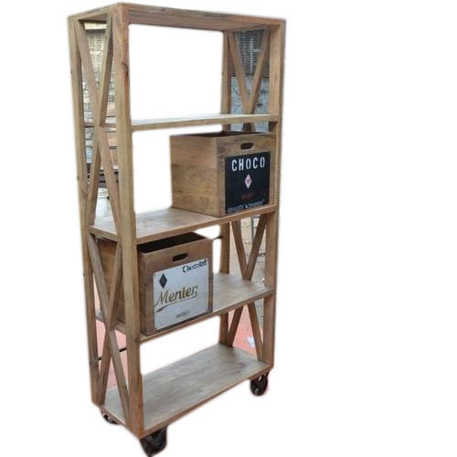 Rustic Green Wood En Portable Bookshelf Rs 14000 Piece Rustic