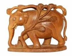 Wooden Tree Elephant