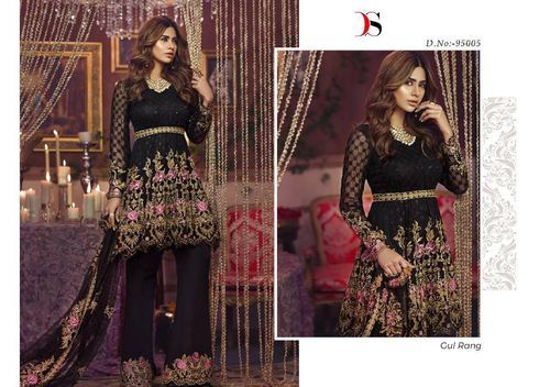 Georgette Embroidered Designer Salwar Suit