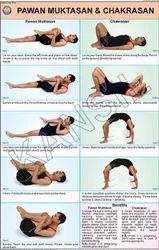 Pawan Muktasan & Chakrasan For Yoga Chart