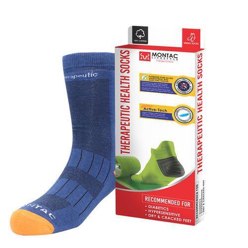 b32df80e87 Lycra/Spandex MONTAC LIFESTYLE Therapeutic Health Socks- Diabetic Socks,  Model: MLTHS,