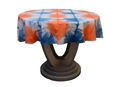 Restaurant Table Cloth Size 60 Inches Multi colour round table cover