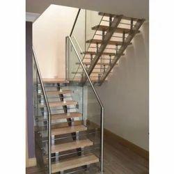 Modern Steel Staircase