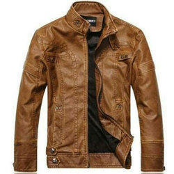 Large and XL Pure Leather Leather Safety Jacket