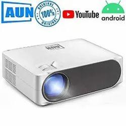 LED AUN AKEY6S Projector, Brightness: 6500