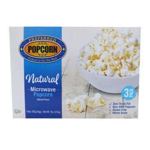 Natural Microwave Popcorn प पक र न