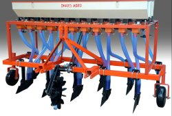 11 Row Tractor Drawn Zero Till Seed Cum Fertilizer Drill