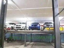 Mild Steel Four Post Car Parking System, 4-6 tons