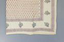 Cotton Quilt Block Print Jaipuri Razai, Mughal Print Colour Muslin Floral Quilt