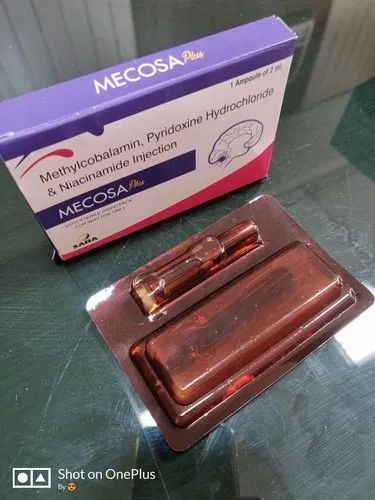 Mecobalamin 1000 Mcg B-complex With Disposable Syringe- Mecosa Plus Tablet