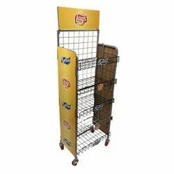 Metal Floor Display Unit for General Trade