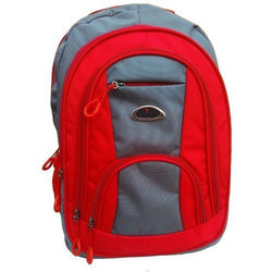 308b952422e6 Red And Grey Boys School Bag