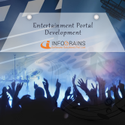 Entertainment Portal Development Service