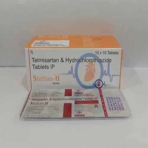 Telmisartan & Hydrochlorothiazide Tablets