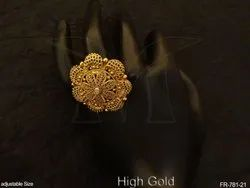 Flower Style Antique Finger Rings