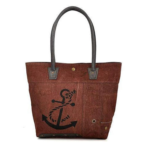 Daphne Brown Tote Bag Anchor Handbags