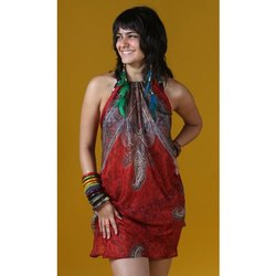 Pure Silk Beach Halter