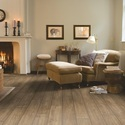Quickstep Scraped oak grey brown Laminate Flooring