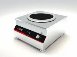 Commercial Induction Wok 3.5 Kw