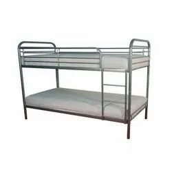 Polished Steel Bunker Cot