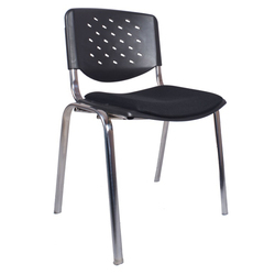 Black Acero Metal Chair