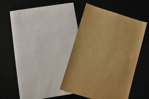 White Top Coated Test Liner Kraft Paper