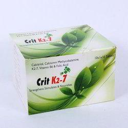 Calcitriol, Calcium, Methycobalamine, Vitamin K27 Tablet