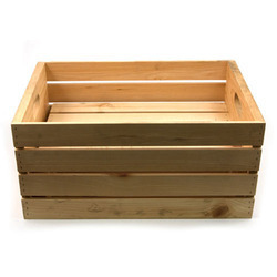 Beige Wooden Pallet Boxes, For Apparel And Hospital