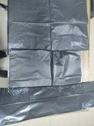 Plastic Black Garbage Bag, For Home Appllication, Packaging Type: 5 Kg