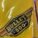 Aluminium Bullet Bike Sticker