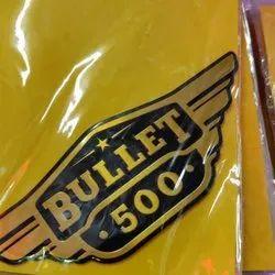 Aluminium Bullet Bike Sticker