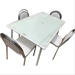 Stainless Steel Dinning Table Set