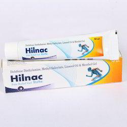 Diclofenac, Methylsalicylate, Menthol & Linseed Oil Gel