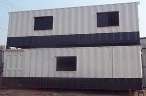 Double Store Portable Cabins