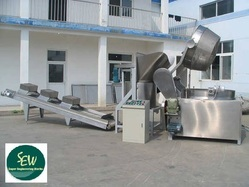 Kurkure Snacks Frying Machine