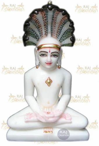 Marble Mahavir Swami Statue Marble Mahavir Swami Murti